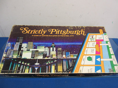 Strictly Pittsburgh board game