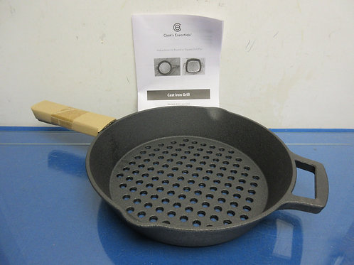 Cook's Essential round cast iron grill
