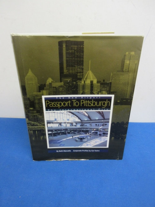 """Pittsburgh history coffee table book, """"Passport to Pgh"""""""