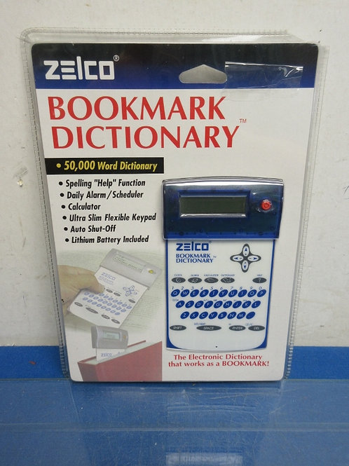 Zelco electric 50,000 word dictionary