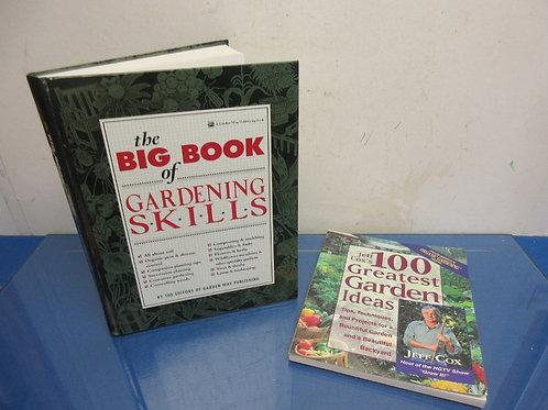 """Pair of gardening books-""""100 Garden Ideas""""Big Book of Gardening"""""""