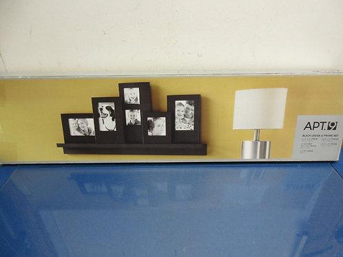 Apt 9 black ledge and frame set - new in box