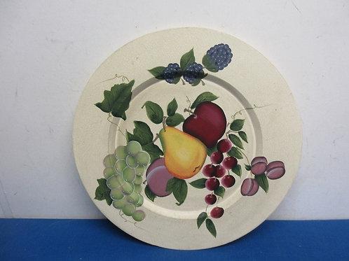 "Home Interiors decorative plate, 15""diameter"