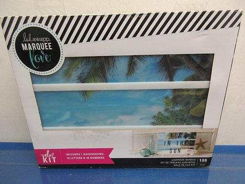 Heidl Swapp Marquee love-lightbox bundle kit