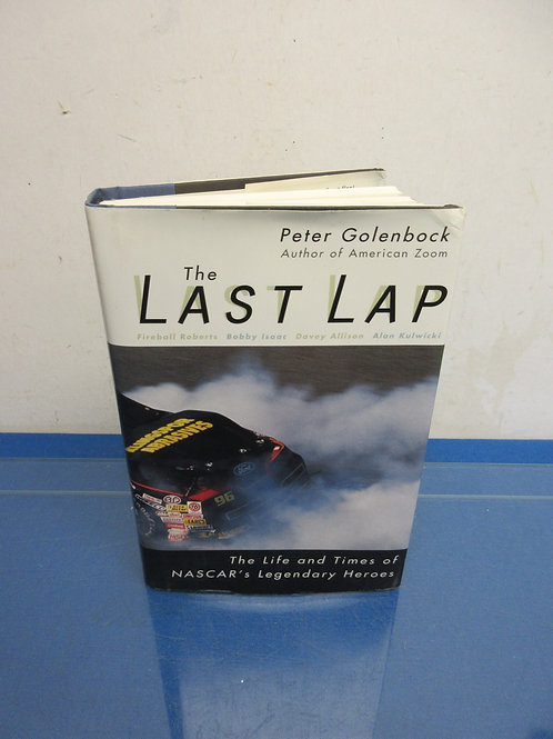"Hardback Nascar book ""The Last Lap"""
