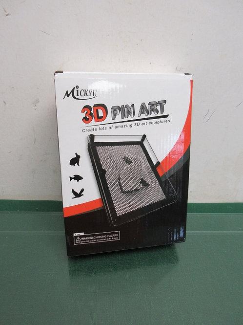 Mickyu 3D pin art-- new in box