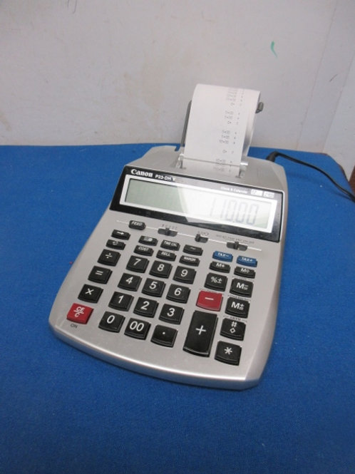 Cannon P23-DHV printing calculator