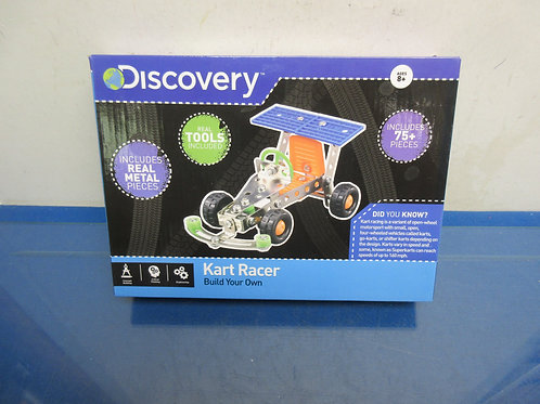 Discovery build your own Kart Racer-ages 8 & up