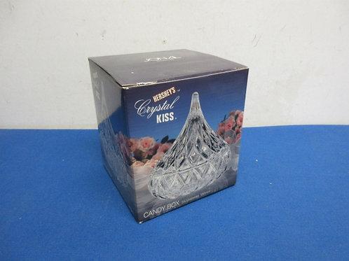 Hershey Kiss by Jonal  - crystal candy dish