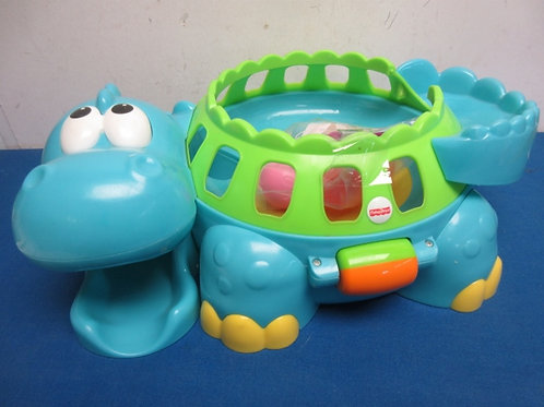 FisherPrice toddler toy turtle with balls