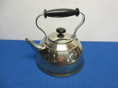 Copco silver tea kettle