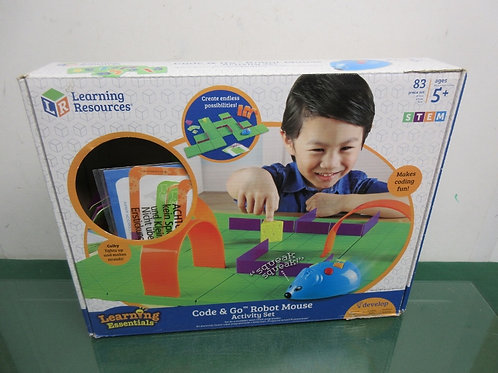 Learning Resources Code &Go Robot Mouse activity set, ages 5+