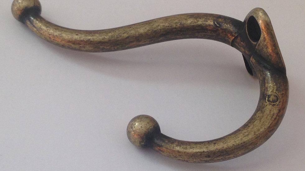 GANCHO DUPLO G ouro velho   (9,5x7,0cm)