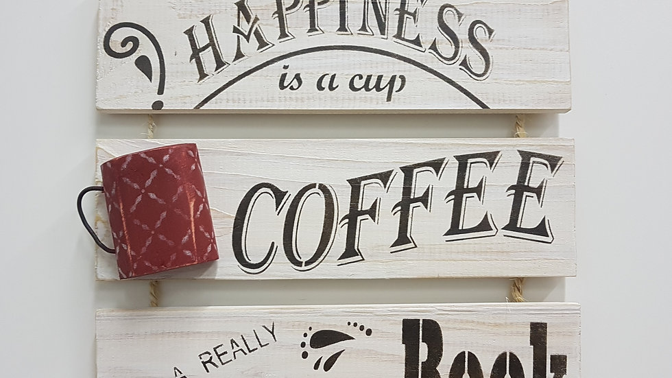 PALLET CORDAS PEQ COFFEE