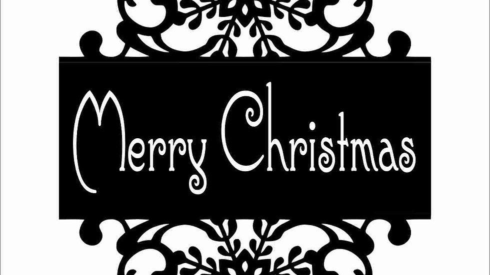 MOLDE MERRY CHRISTMAS
