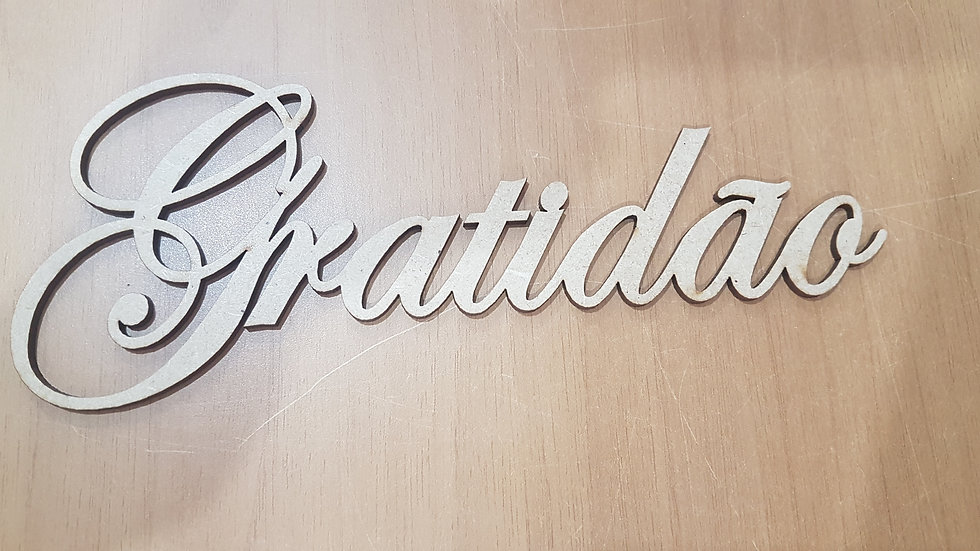 GRATIDÃO GRANDE