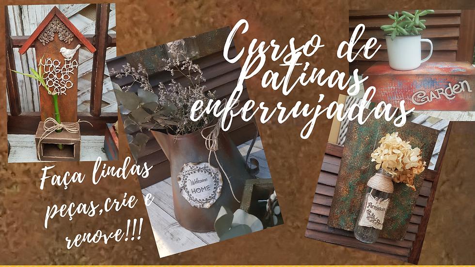 CURSO PÁTINAS ESPECIAIS ENFERRUJADAS