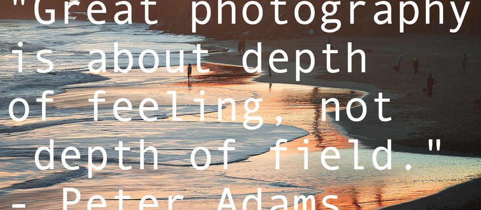 9 Of My Favorite Quotes About Photography