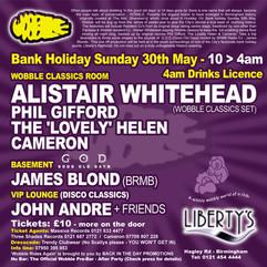 James Blond @ Wobble