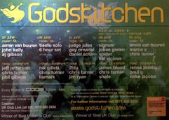James Blond @ Gods Kitchen
