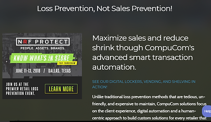 NRF Protect Landing Page