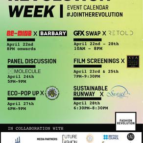 Fashion Revolution Week UAE 2018