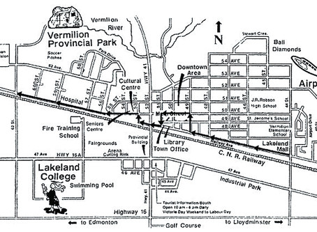 Vermilion Parade Route Map