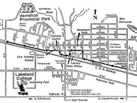 Vermilion Parade Route Map