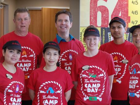 Tim Hortons Camp Day