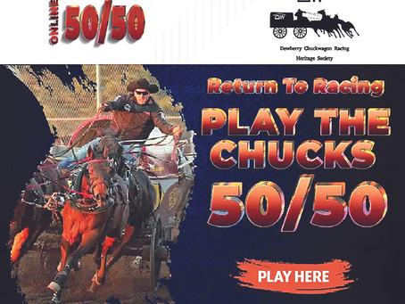 Dewberry Chuckwagon Return To Racing 50/50 Raffle