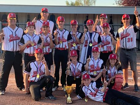 Pee Wee Boys Provincial Win