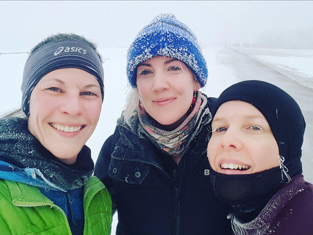 Winter Runners Brave Extreme Cold Temperatures