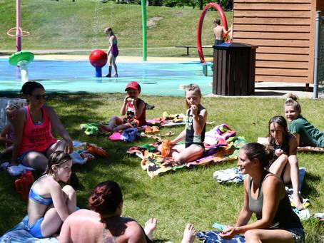 Spray Park Set To Open Soon