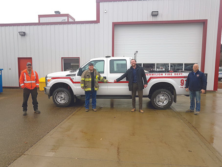 ATCO Donates To Vermilion Fire Department