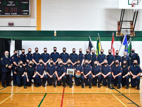 Lakeland College Fire School Grad