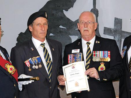 Legion Lifetime Membership Ceremony