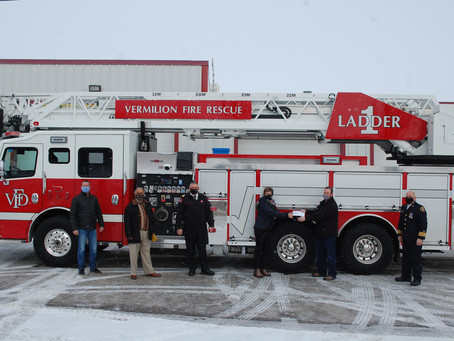 Vermilion Fire Department ReceivesBrand New Fire Truck