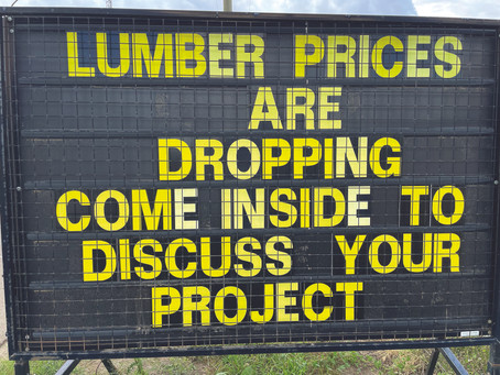 Lumber Prices Better, But Not Everything IsBack To Normal
