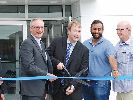 Webb's Ford Celebrates Brand New Building