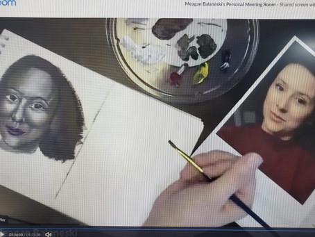 Digital Live Art Session