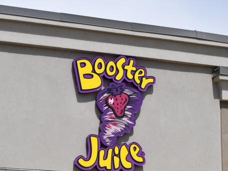 Upcoming Booster Juice