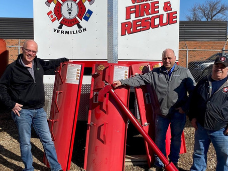 G3 Supports Safety In Vermilion With Donation Of Grain Rescue Gear