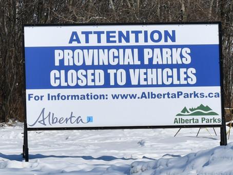 Vermilion Parks Closed