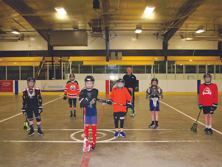 Vermilion Roar Lacrosse Back in Action-Sort Of