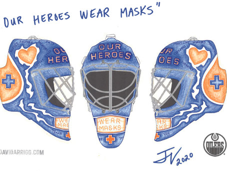 Elk Point Resident Wins Oilers Mask Contest