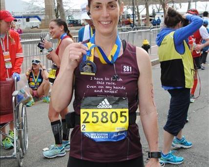 Local Woman Runs The Boston Marathon