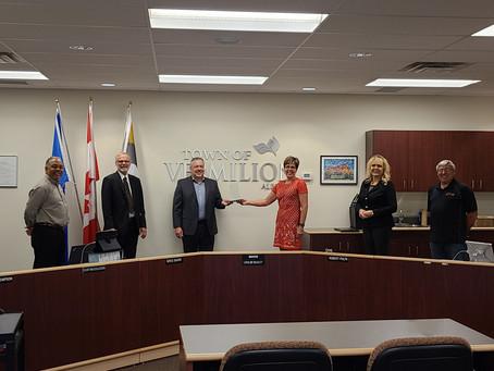 Vermilion Awarded AUMA Municipal Sustainability Award