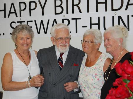 Dr. Stewart Hunter Retires