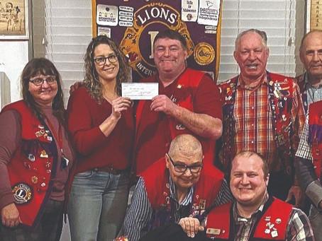 Vermilion Lions Donation To Alberta Eye Institute