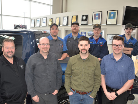 Movember At Webb's Ford